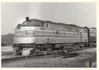 Amtrak locomotive 489