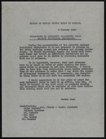 Documents concerning trial organization and procedures