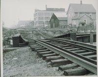 Flood Of August 1955, Washington Avenue, Waterbury