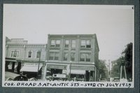 Corner Of Broad And Atlantic Streets, Stamford