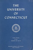 University of Connecticut bulletin, 1957-1958