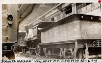 "Boston & Providence Railroad steam engine """"Daniel Nason"""""