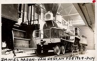 "Boston & Providence Railroad steam engine, ""Daniel Nason"""