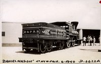 Boston & Providence Railroad steam engine Daniel Nason