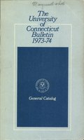 University of Connecticut bulletin, 1973-1974