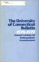 University of Connecticut bulletin, 1978-1979
