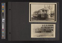 Plainfield and Taftville trolleys
