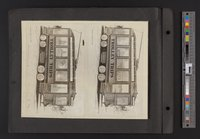 """Trolley Trips"" drawings"