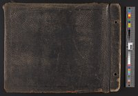 Back cover of Connecticut Street Railroad Photograph Album