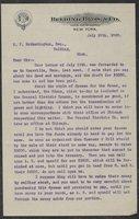 Correspondence 1893