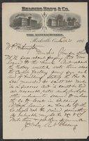 Correspondence 1896