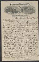 Correspondence 1899