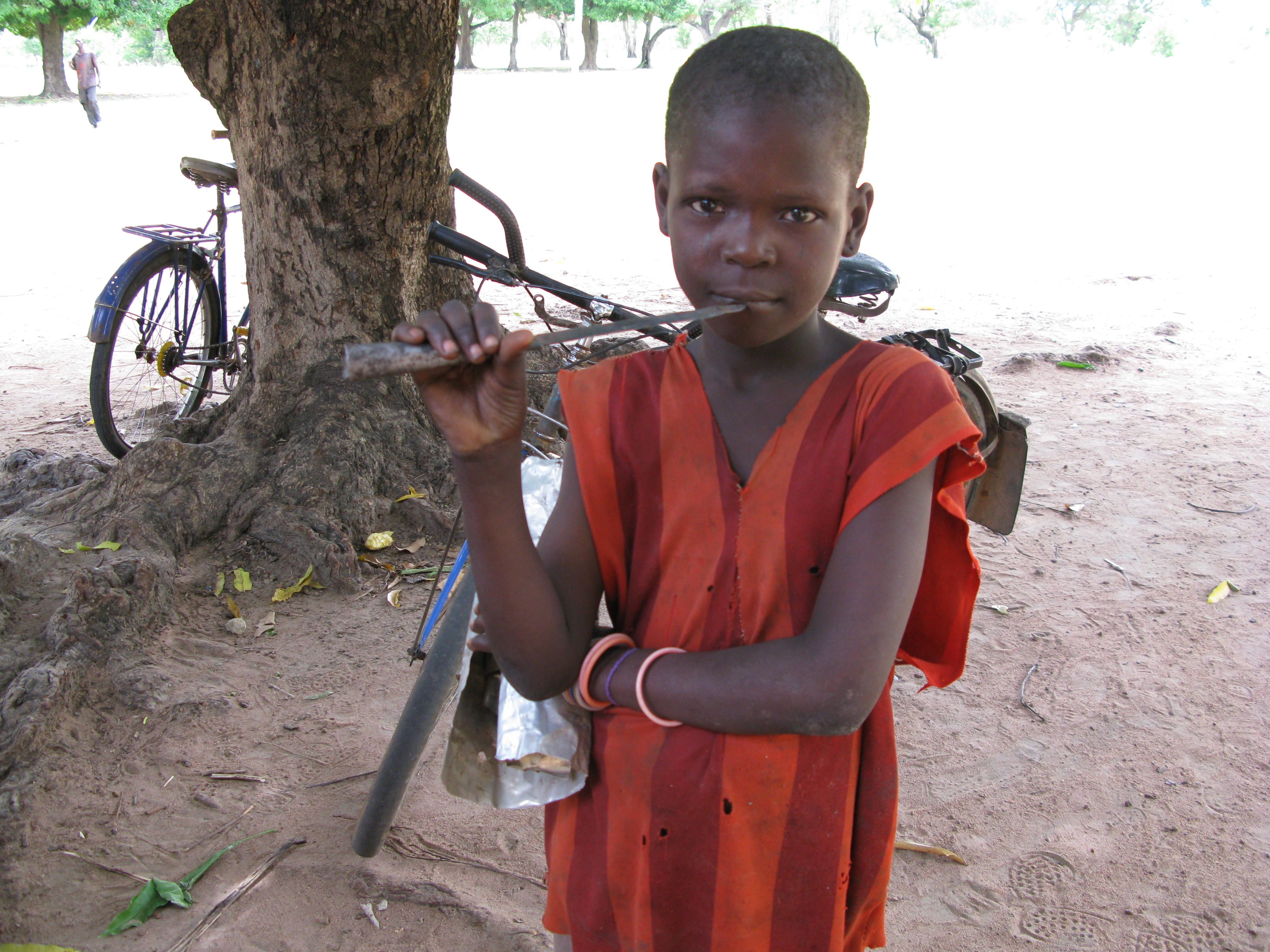 Boy in the Central African Republic