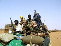 Sudan Liberation Army (SLA/MM) supporters