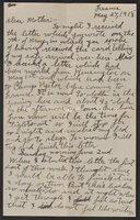 Correspondence, 1918 February - May