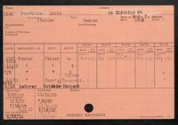 Employee record cards, Boncivino-Camp