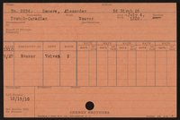 Employee record cards, Demers-Eamond