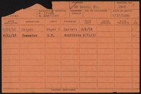 Employee record cards, Campbell-Conforti
