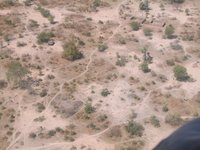 Aerial view of Yirol, Sudan