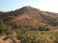 View of the Nuba Mountains