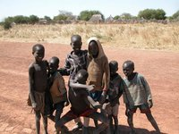 Children in Marial Bai, Sudan