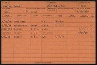 Employee record cards, Hewitt-Letzeisen