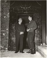 Thomas Dodd with Lt. Col. Richard Owens of New Haven