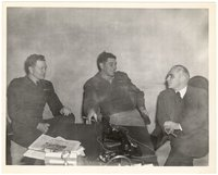Thomas Dodd, Lt. Wechsler and Capt. (unidentified) meeting in the office