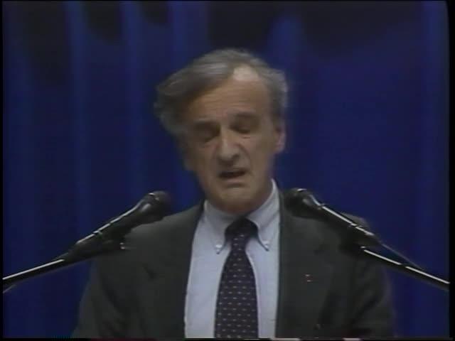 Fifty Years After Nuremberg: Nobel Laureate Address by Elie Wiesel