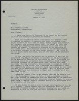Letter from Edward F. Bailey to Vivien Kellems, 1 of 2 (1954-03-02)