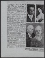 Pair Celebrates 50th Year (1953-06-14)