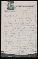 Letter from Vivien Kellems to Arthur J. Peck, 1 of 3 (1947-07-07)