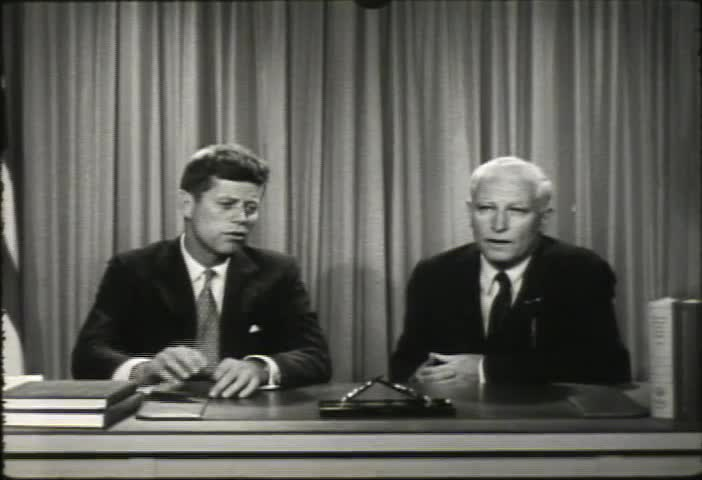 Congressman Thomas Dodd Interviews Senator John F. Kennedy