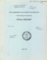 Commission on University Governance Final Report