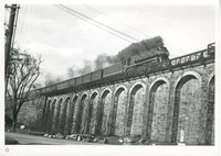 New Haven Railroad locomotive 1407, Canton Viaduct