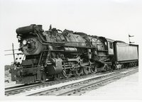 New Haven Railroad 4-8-2 freight locomotive