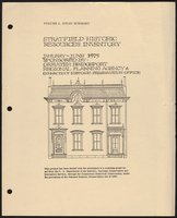Fairfield (Bridgeport), Stratfield Section, intensive-level (254 properties), V. I