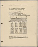 Fairfield (Bridgeport), Stratfield Section, intensive-level (254 properties), V. II