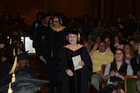 Commencement, School of Social Work, 2016