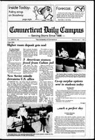 Connecticut Daily Campus, Volume 86, Number 108
