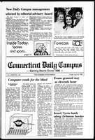 Connecticut Daily Campus, Volume 86, Number 118 (119)