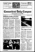 Connecticut Daily Campus, Volume 86, Number 119 (120)
