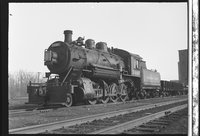Canadian Pacific Railway steam locomotive 3490