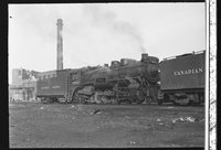 Canadian Pacific Railway steam locomotive 5343
