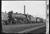 Canadian Pacific Railway steam locomotive 5114