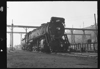 Canadian National Railway steam locomotive 4190