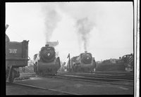 Canadian Pacific Railway steam locomotives 2393 and 2408