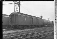 Canadian Pacific Railway wooden baggage car 1158, Montreal