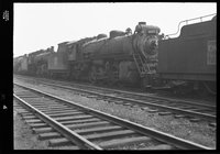 Canadian National Railway steam locomotive 3419