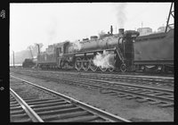 Canadian National Railway steam locomotive 6016